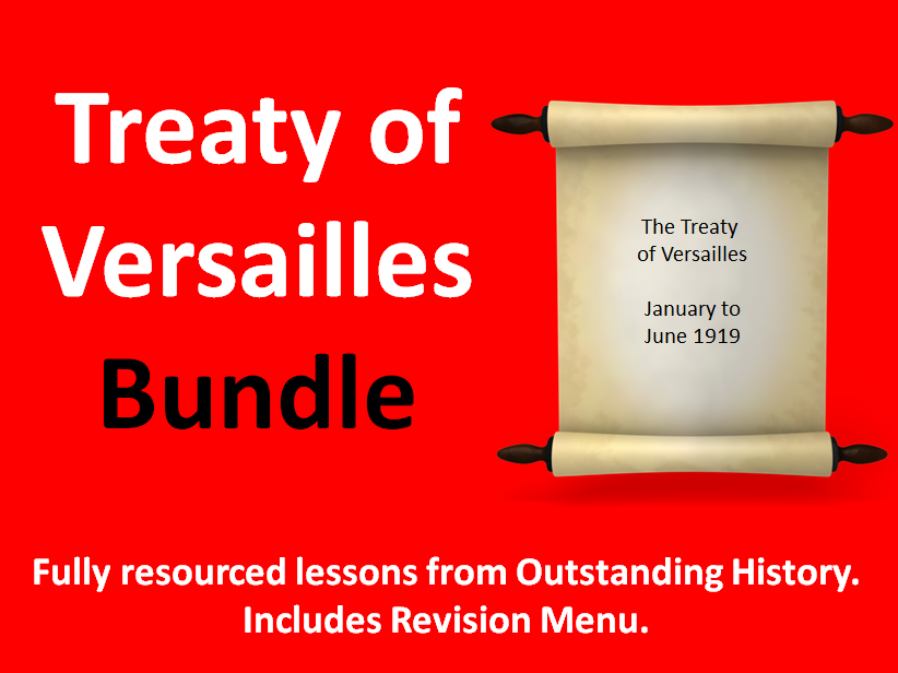 Treaty of Versailles Bundle