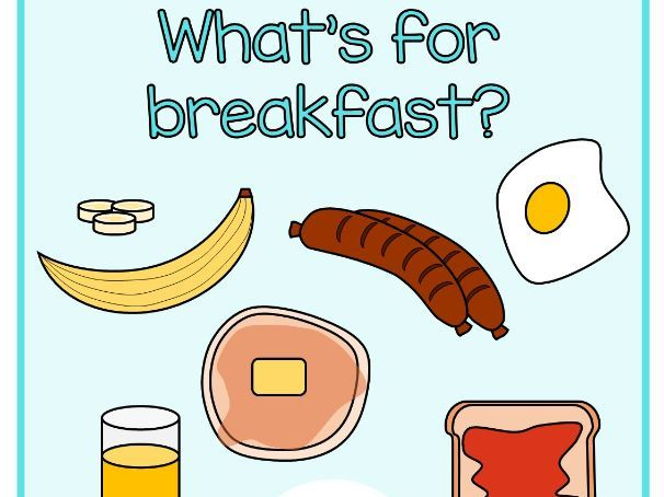 What's for breakfast? Food Pack