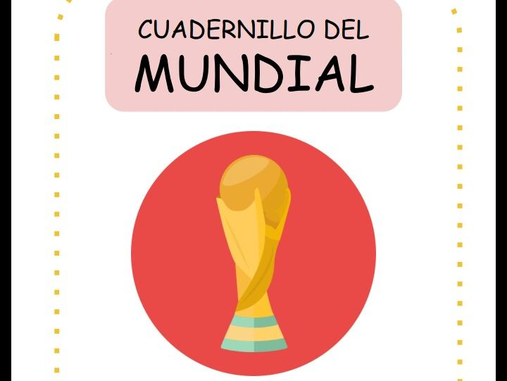 World Cup 2018 Booklet- El Mundial 2018 Cuadernillo