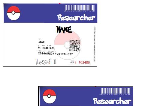 Pokemon ID badges