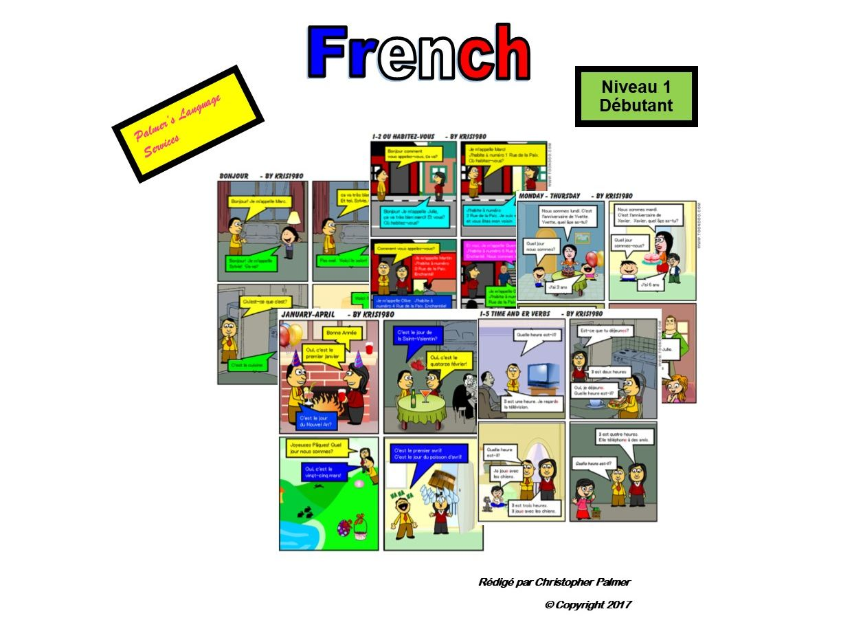 French for Adults: Beginners: Parts 1-1 to 1-5 (Only £8!!)