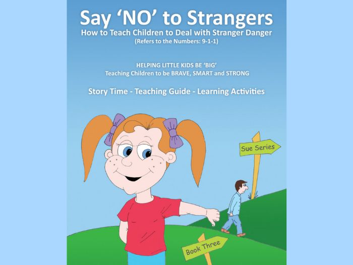 Say No to Strangers - (USA) - How to Teach Children to Deal with Stranger Danger - Refers to '911'