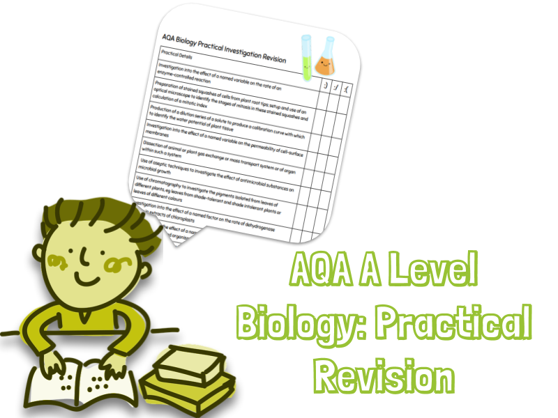 AQA Biology Practical Revision Booklet (PAG)