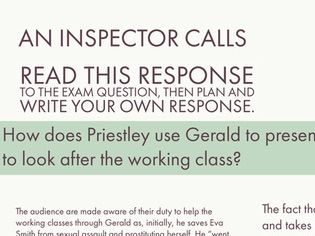 An Inspector Calls: Gerald Example Full Essay