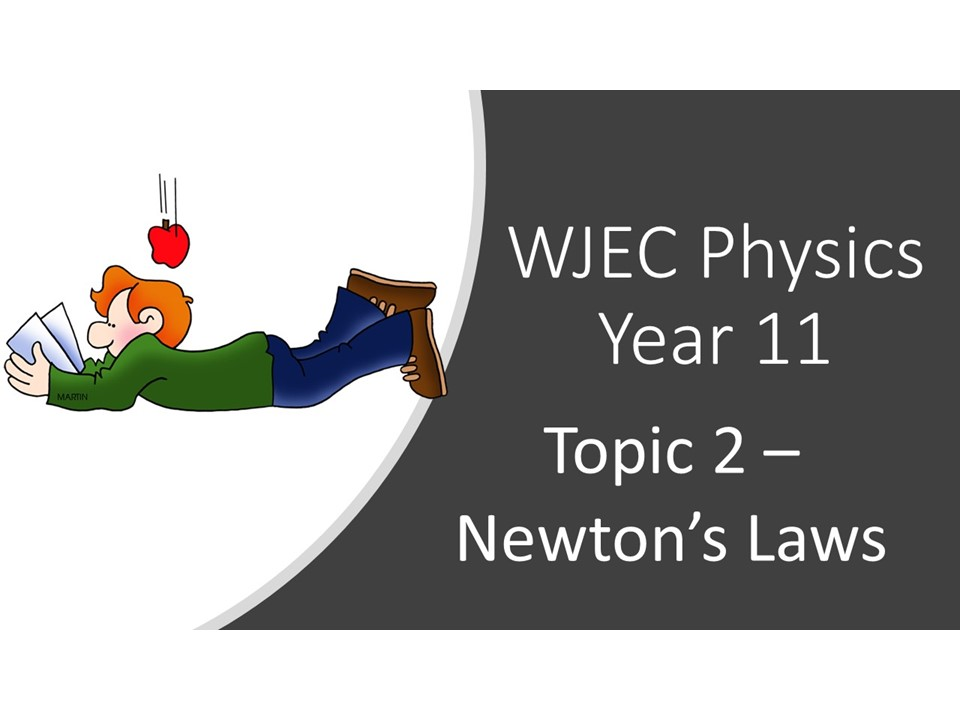 WJEC Physics 2.2 (Triple) / 6.2 (Double) Newton's Laws whole topic ppt