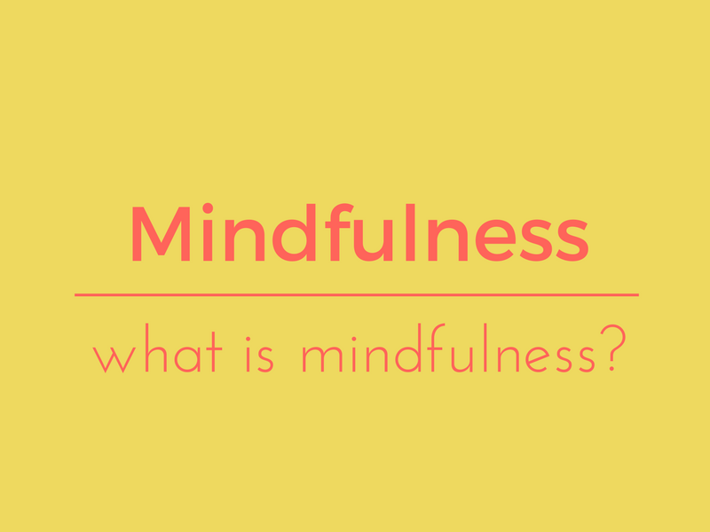 what is mindfulness? ( with music )