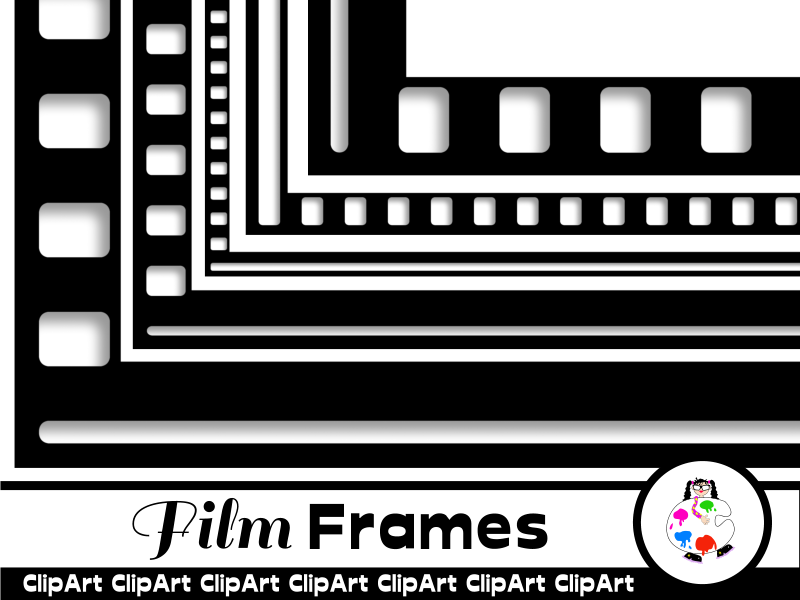 Clip Art Film Frames