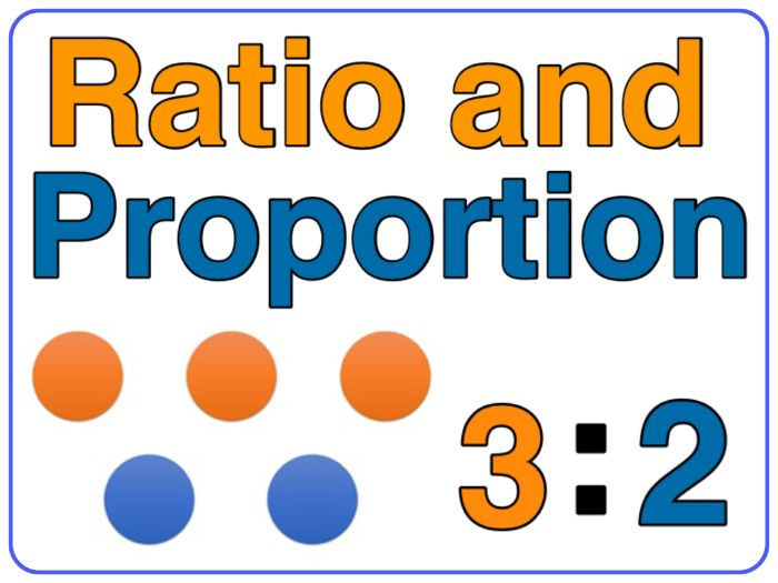 Radio and Proportion