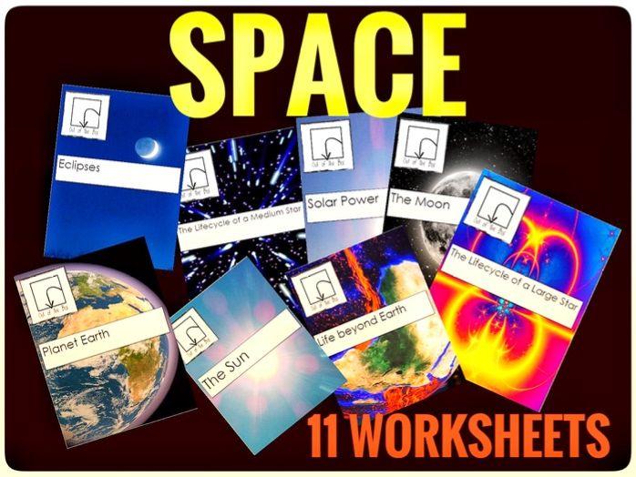 Science. Space. 11 Worksheets