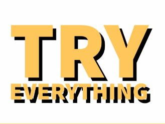 Try everything - lesson plan