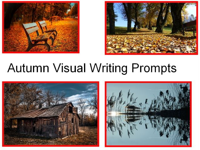30 Autumn Photos + Autumn Visual Writing Prompts + 31 Ways To Use This Teaching Resource In Class