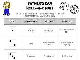 Father's Day Roll A Story