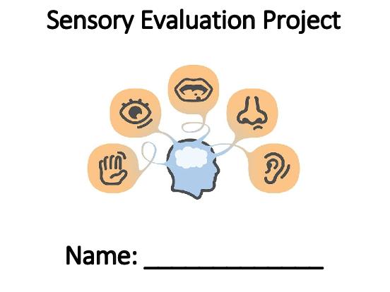 Food & Nutrition Sensory Evaluation Booklet