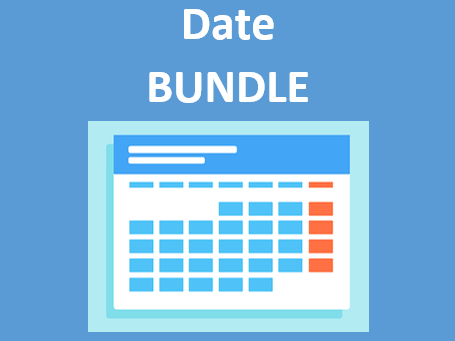 Datum (Date in German) Bundle