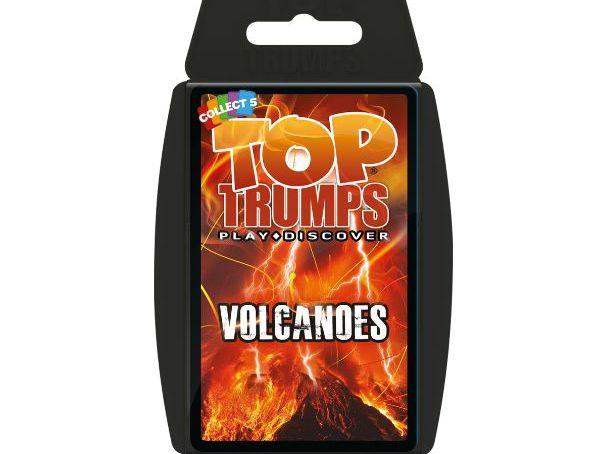Volcanoes Official Top Trumps - Full Deck