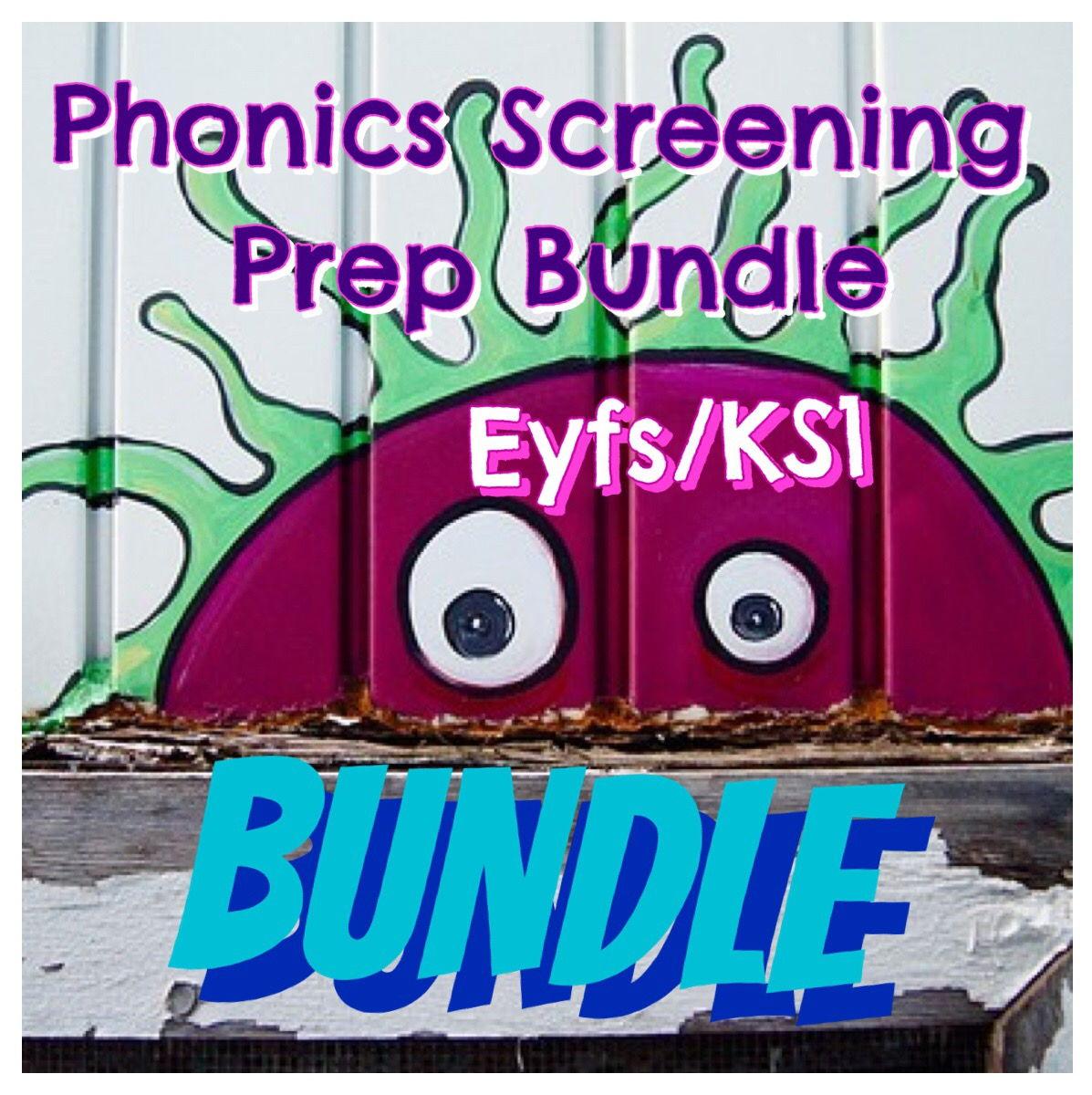 Phonics Screening Prep Bundle