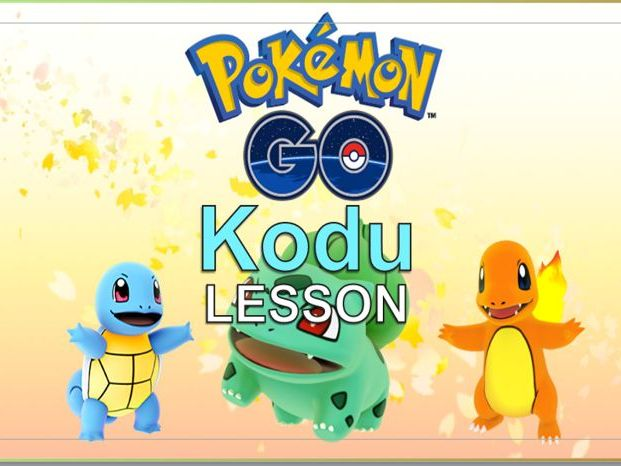 Pokemon Go Kodu Lesson