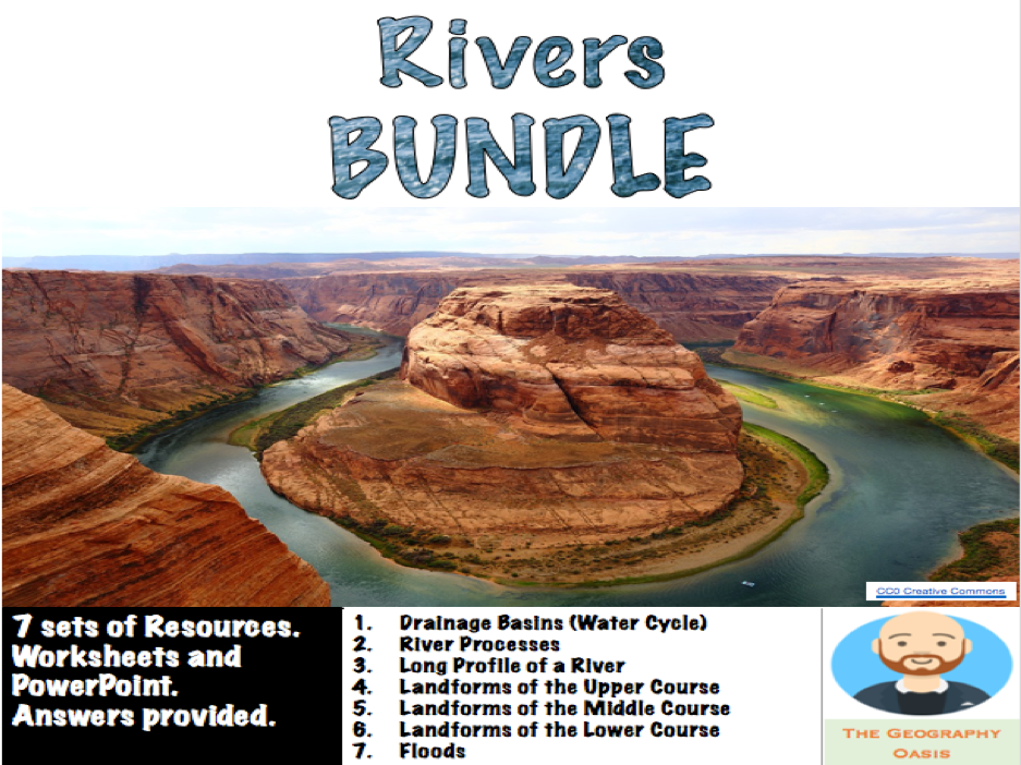 Rivers Bundle: Processes, Landforms and Floods
