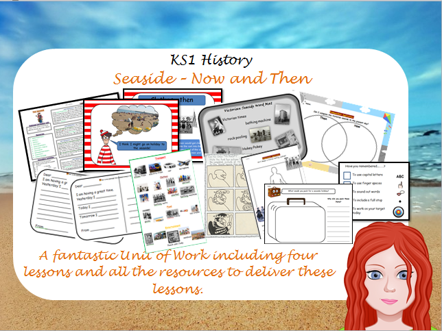 History of the Seaside - Then and Now KS1