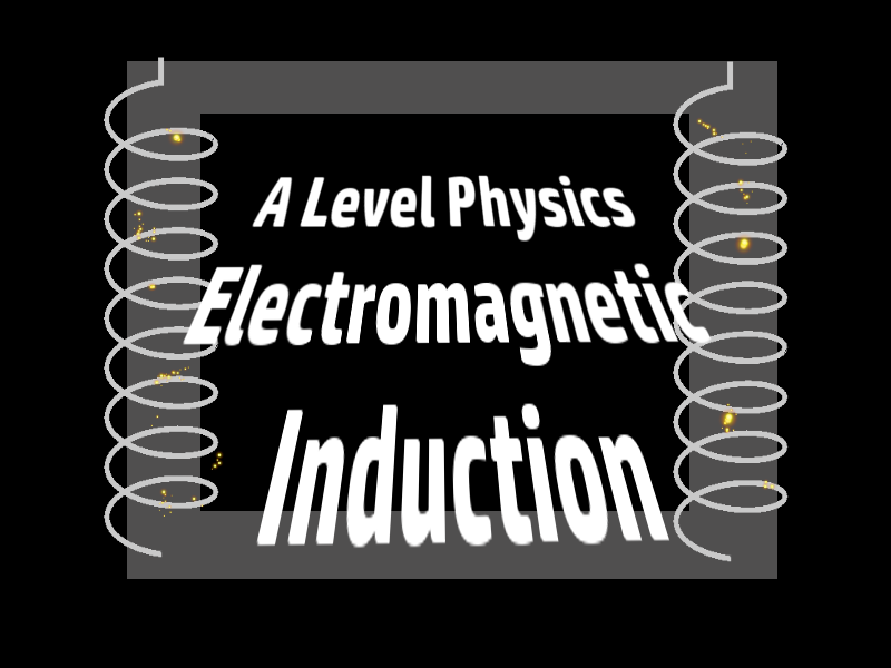 A Level Physics Electromagnetic Induction 1 : Introduction to Induction