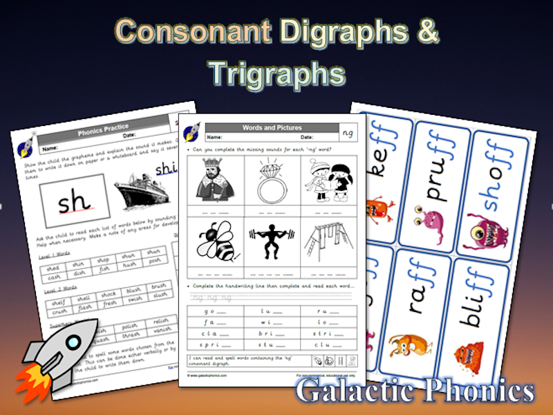 The Big Book Of Consonant Digraphs And Trigraphs By First School
