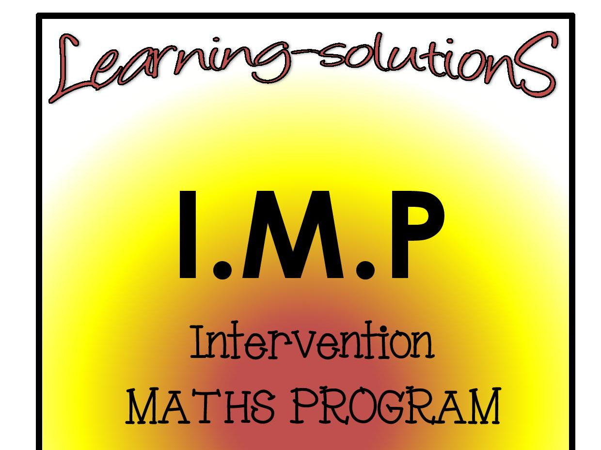 INTERVENTION MATHS BUNDLE - Year 2 - PROGRAM Plus Games and extra 100 Task Cards