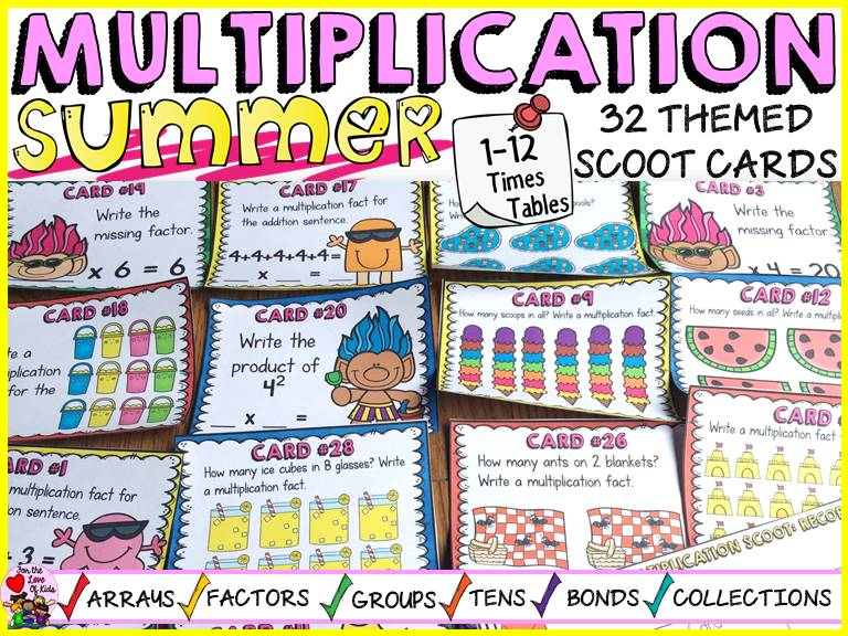 SUMMER MULTIPLICATION SCOOT