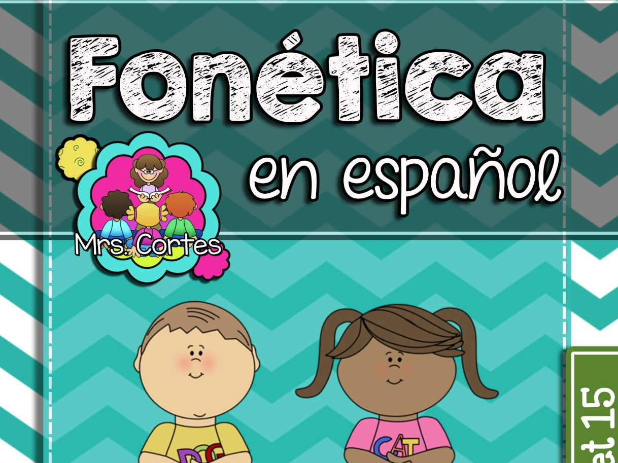 Spanish Phonics Book Bundle # 5: Sets 13,14, and 15