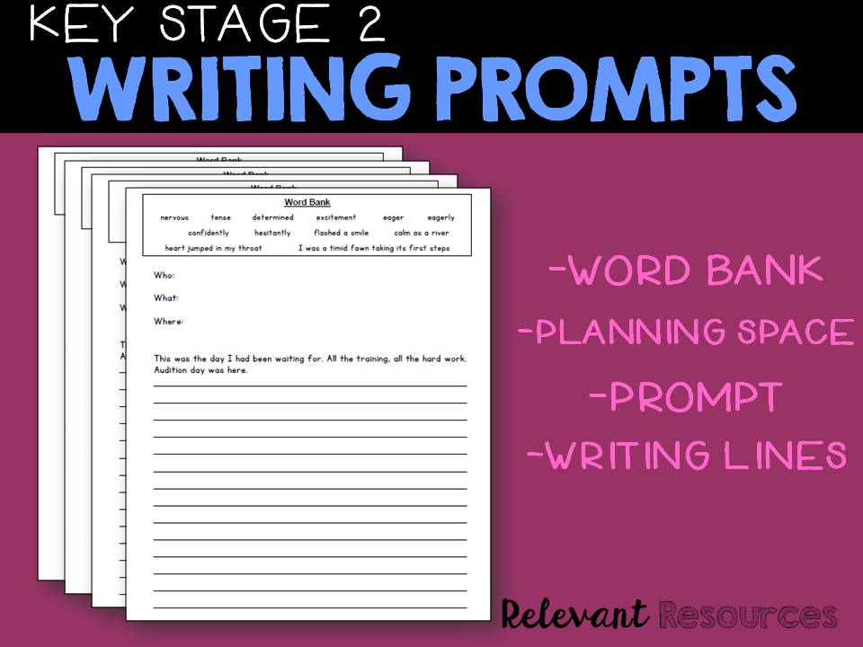 Key Stage Two Writing Prompts