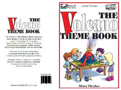 The Volcano Theme Book -  for Junior Primary