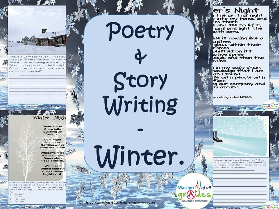 Poetry & Story Writing - Winter