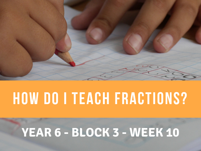 Fractions Year 6 Block 3 Weeks 7-10