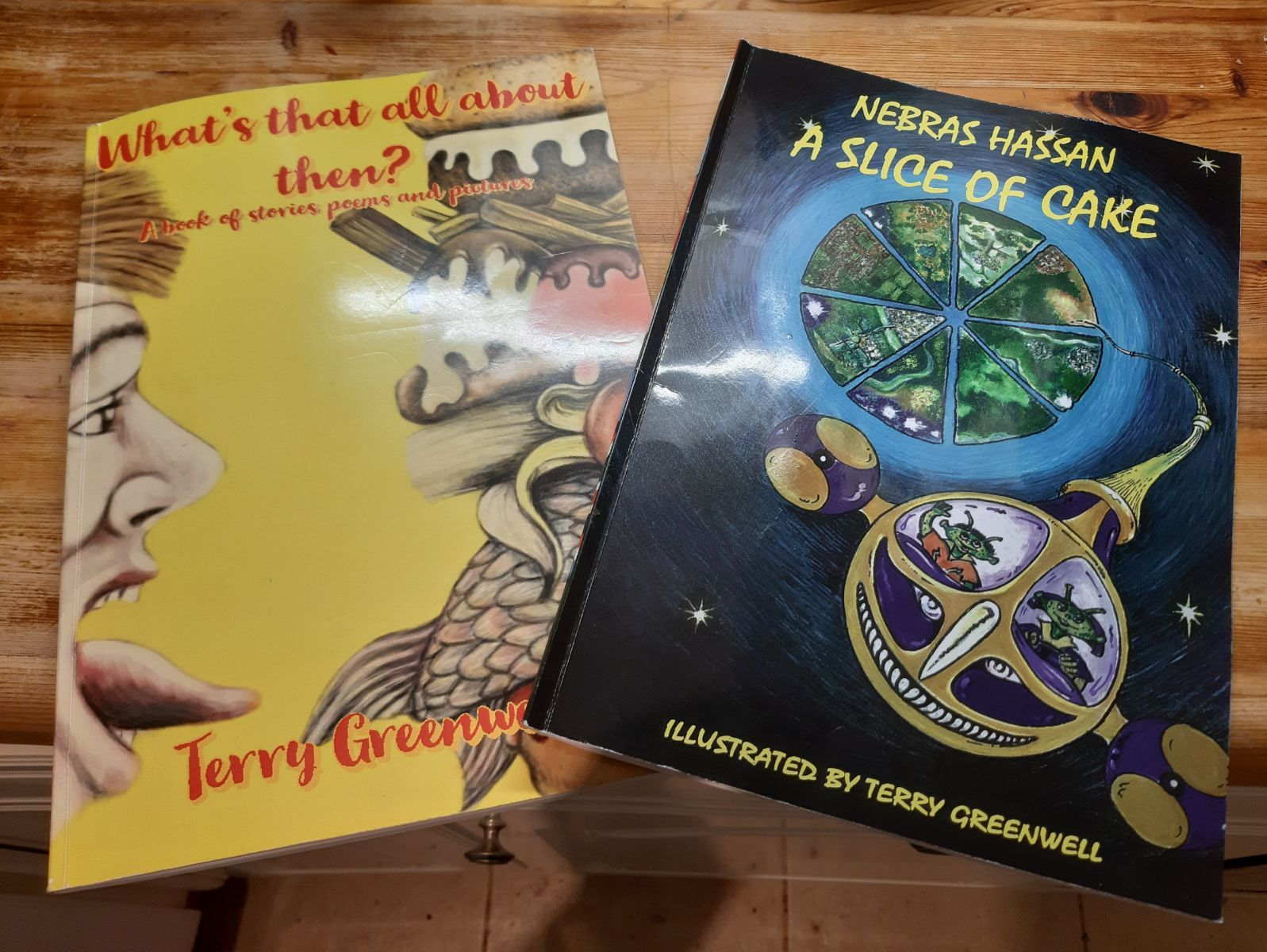 Two fully illustrated poetry and story books for primary