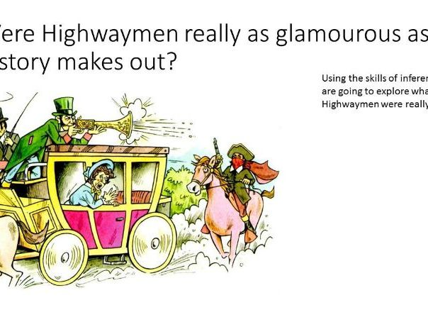 Highwaymen - Inference and Utility Skills lessons