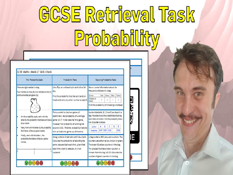 Probability GCSE Foundation/Resit Retrieval Sheet