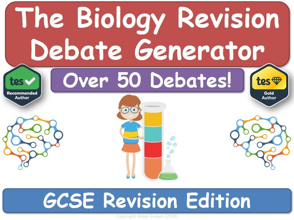 Revision Debate Generator - GCSE Biology (Revision, Science, Biology, GCSE)