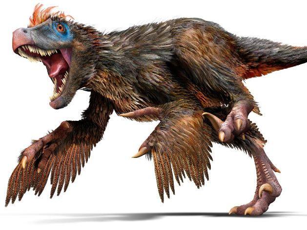 T-Rex and velociraptor brainstorm