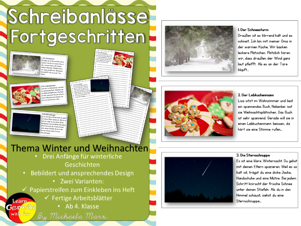Elementary school German resources: texts