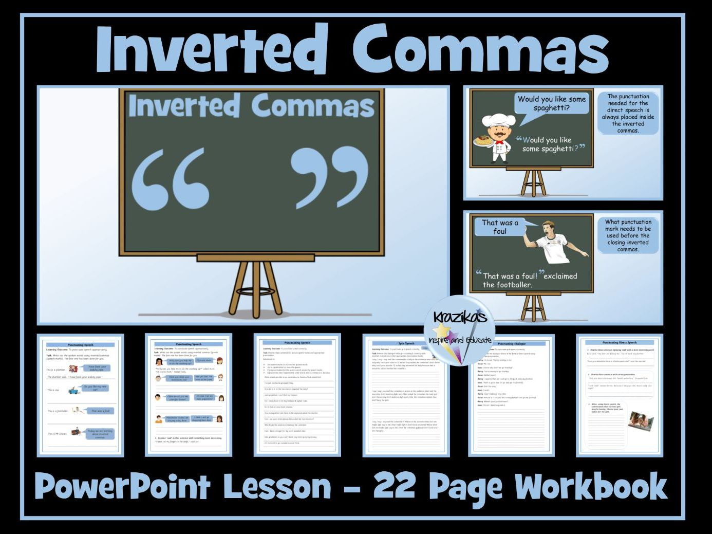 Inverted Commas / Speech Marks