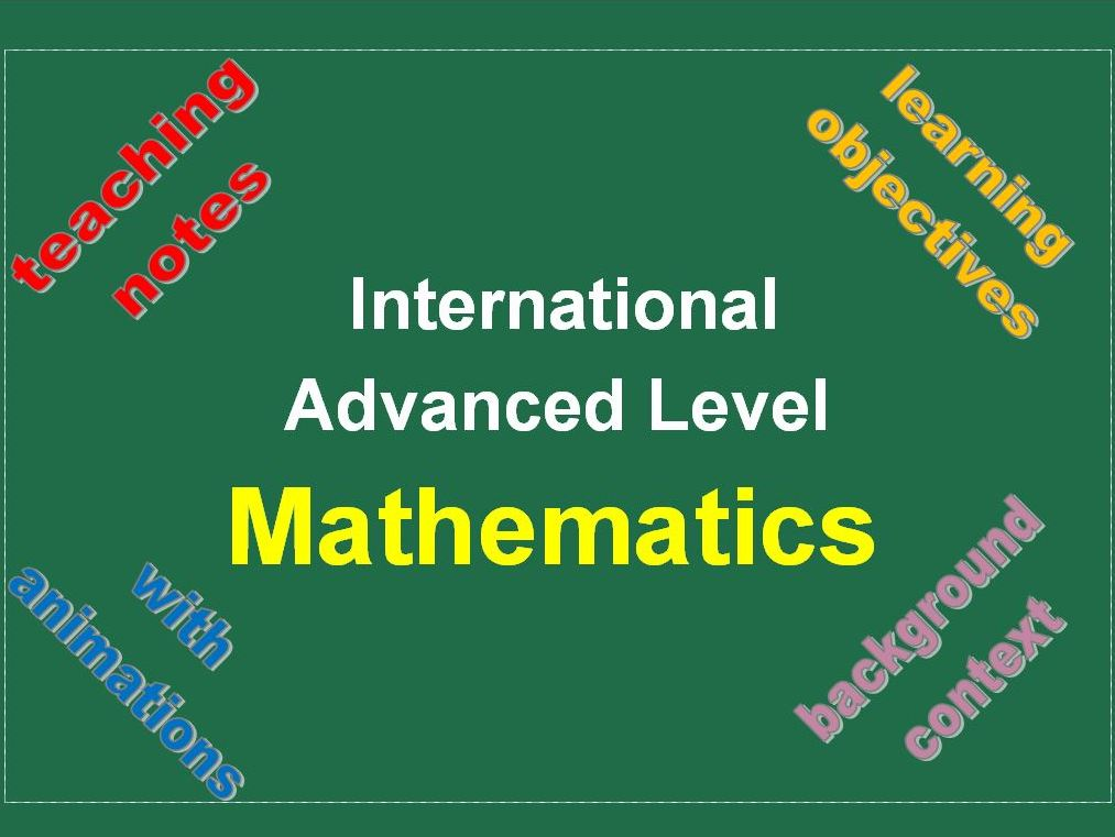 IAL Mathematics PowerPoint Mega Bundle