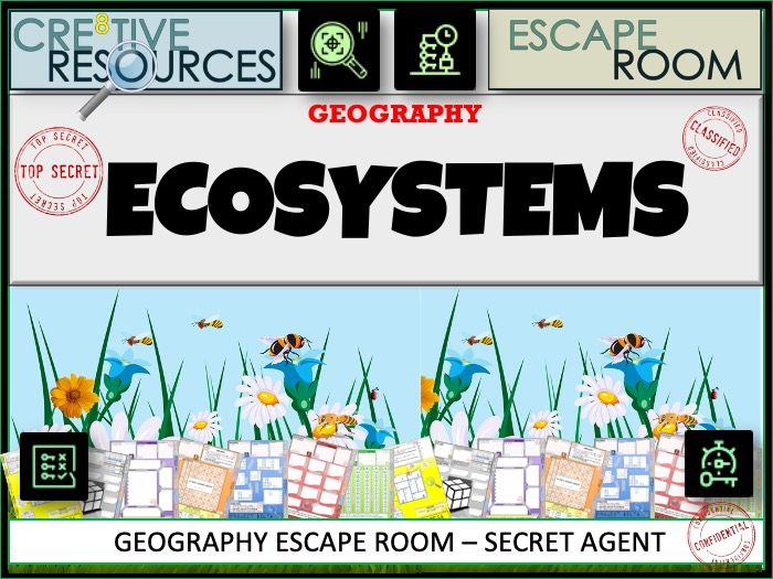 Ecosystems Geography Escape Room