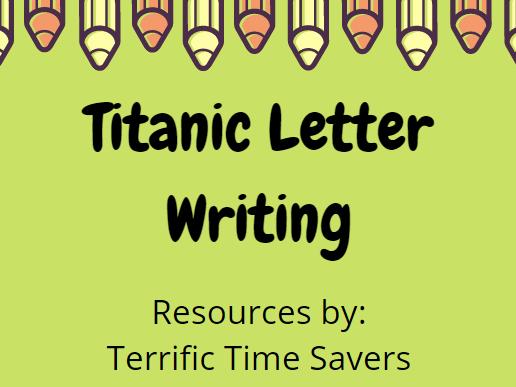 Titanic Letter Writing