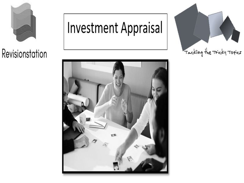 A Level Business Investment Appraisal
