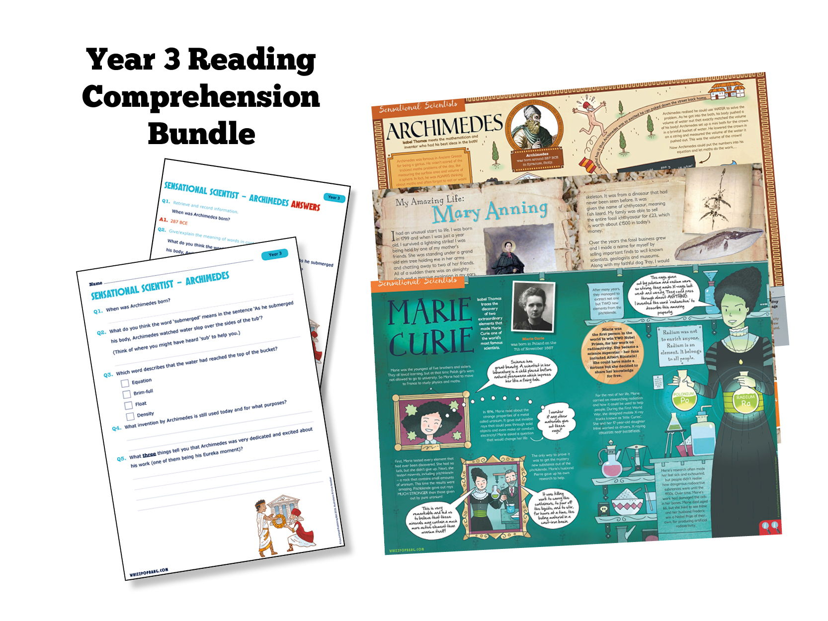 Year 3 Reading: Historical Scientists