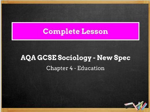 Lesson 12 - Social Class and Achievement