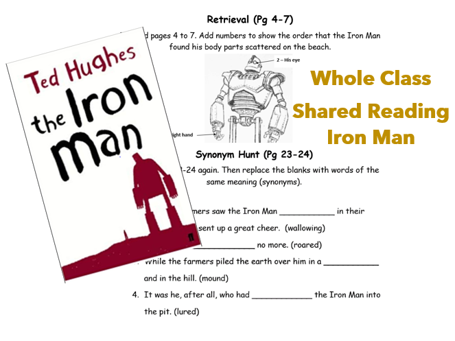 Whole Class Reading - The Iron Man