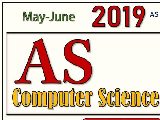 AS Computer Science 9608 Pre-Release 2019 (May/June - 22) Sample Question and Solution