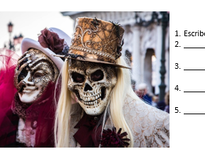 GCSE style assessment - Topic 4: Customs and festivals in Spanish-speaking countries/communities