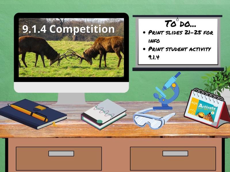 9.1.4 Competition (AQA KS3 Activate 1)