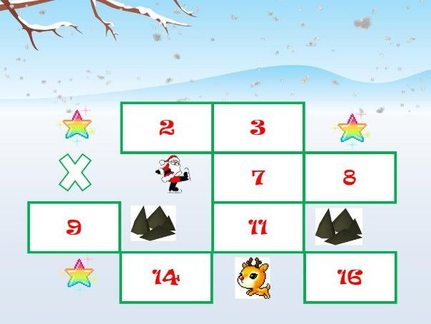 Santa Hunt game - like treasure hunt but with Santa!